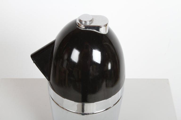 Norman Bel Geddes Soda King Rechargeable Syphon circa 1938, Unused For Sale 10