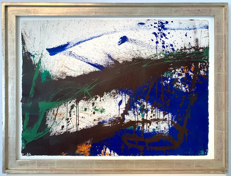 Norman Bluhm Abstract Painting - Bail-out