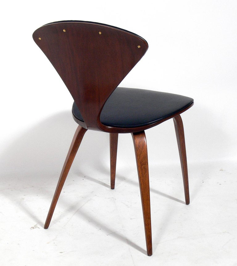 Mid-20th Century Norman Cherner Dining Chairs, Set of Eight For Sale