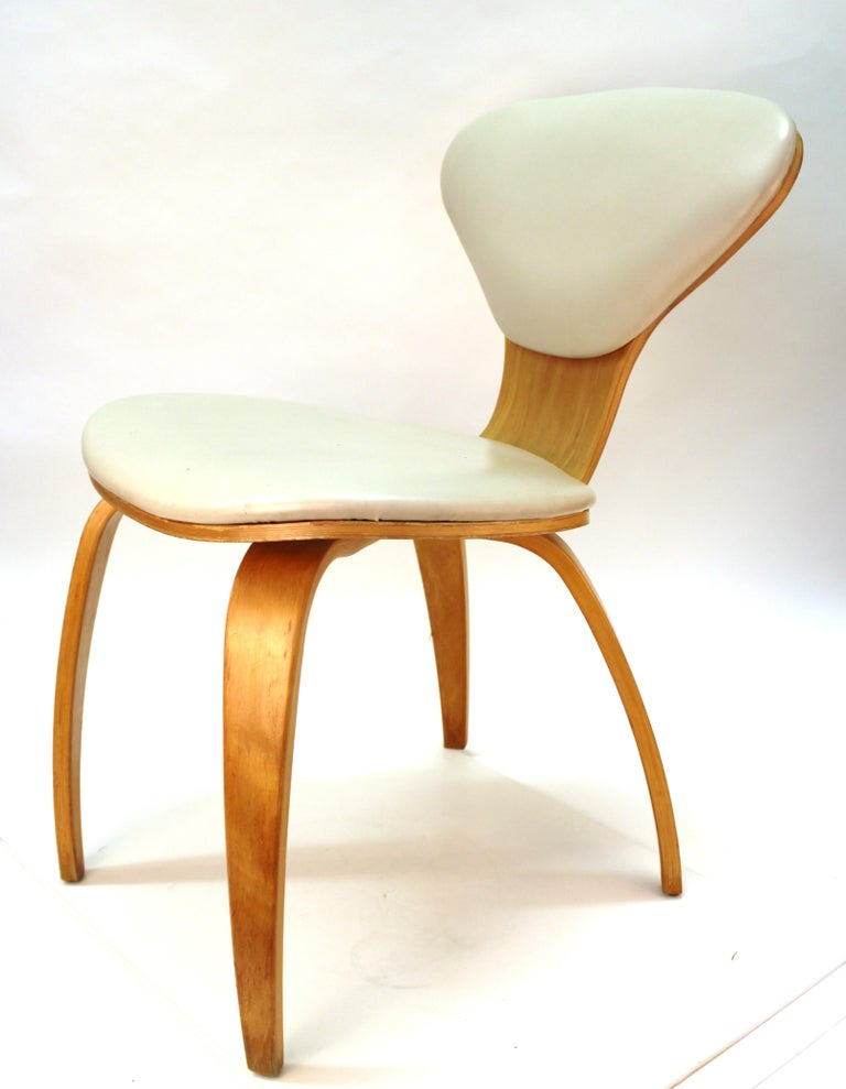 Norman Cherner for Plycraft Mid-Century Modern Dining Room Chairs For Sale 5
