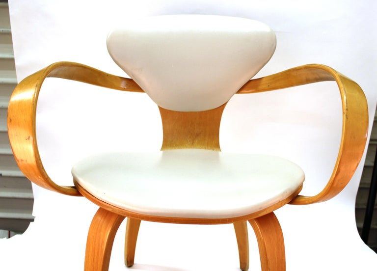 American Norman Cherner for Plycraft Mid-Century Modern Dining Room Chairs For Sale