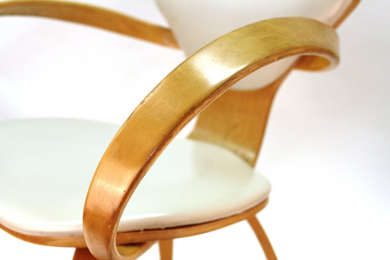 Mid-20th Century Norman Cherner for Plycraft Mid-Century Modern Dining Room Chairs For Sale
