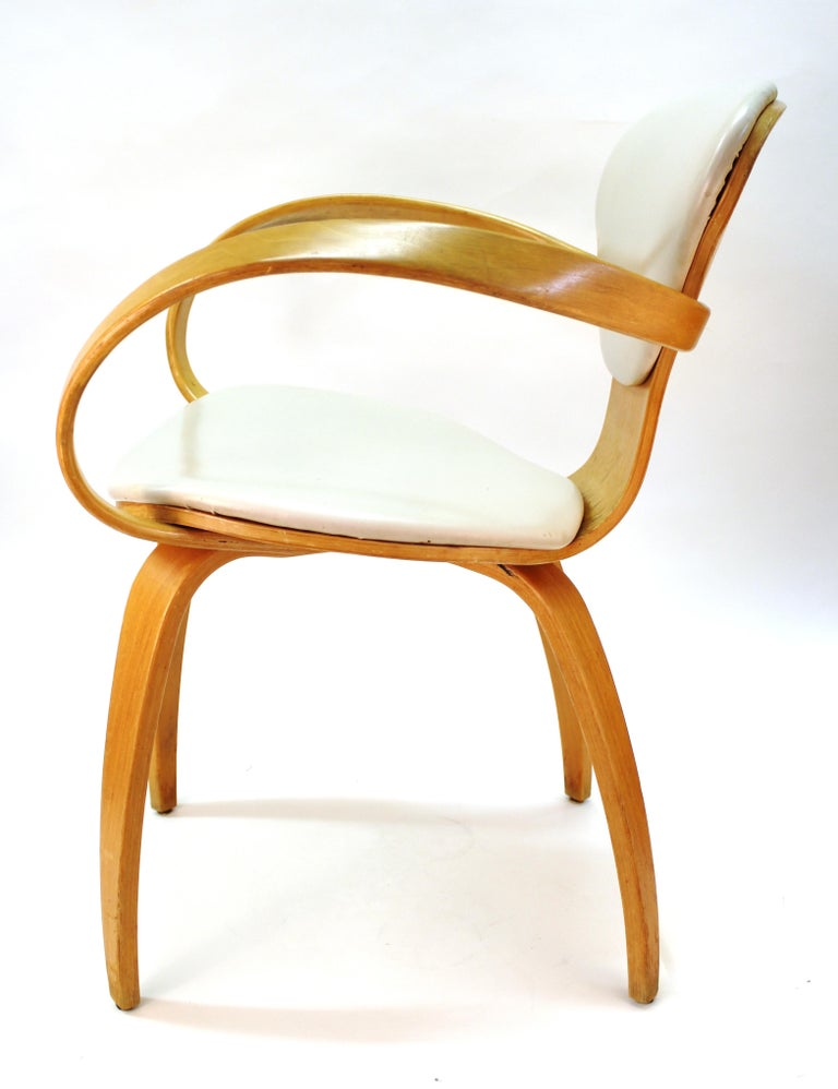 Wood Norman Cherner for Plycraft Mid-Century Modern Dining Room Chairs For Sale