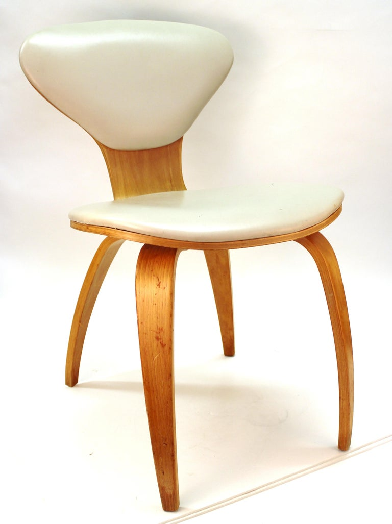 Norman Cherner for Plycraft Mid-Century Modern Dining Room Chairs For Sale 3