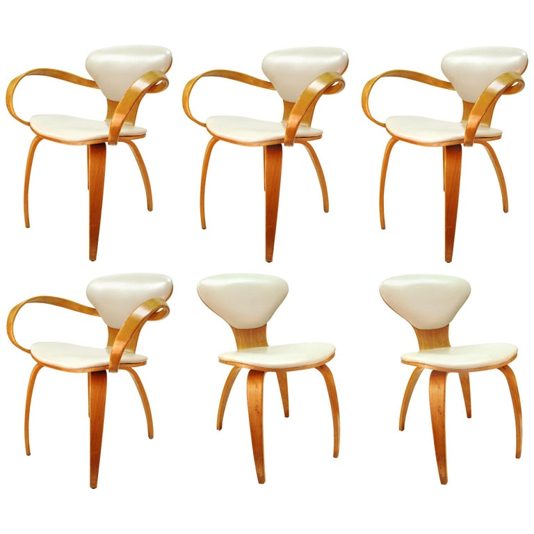 Norman Cherner for Plycraft Mid-Century Modern Dining Room Chairs For Sale