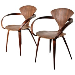 Norman Cherner for Plycraft Pretzel Chairs