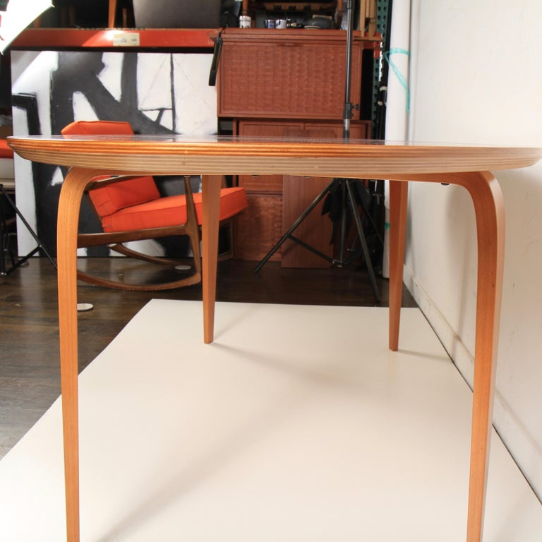 Norman Cherner Oval Dining Table For Sale 3