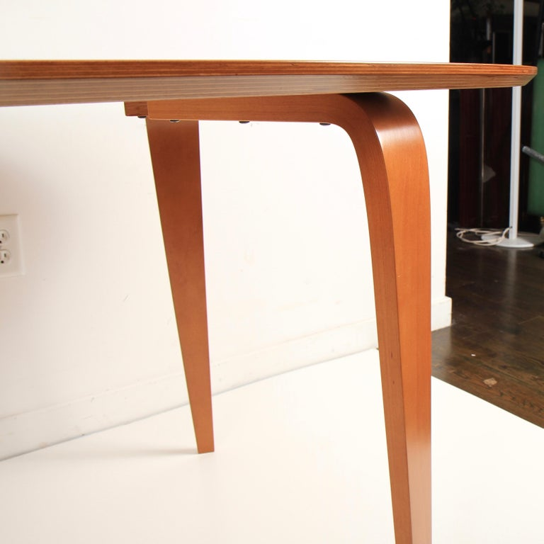 American Norman Cherner Oval Dining Table For Sale