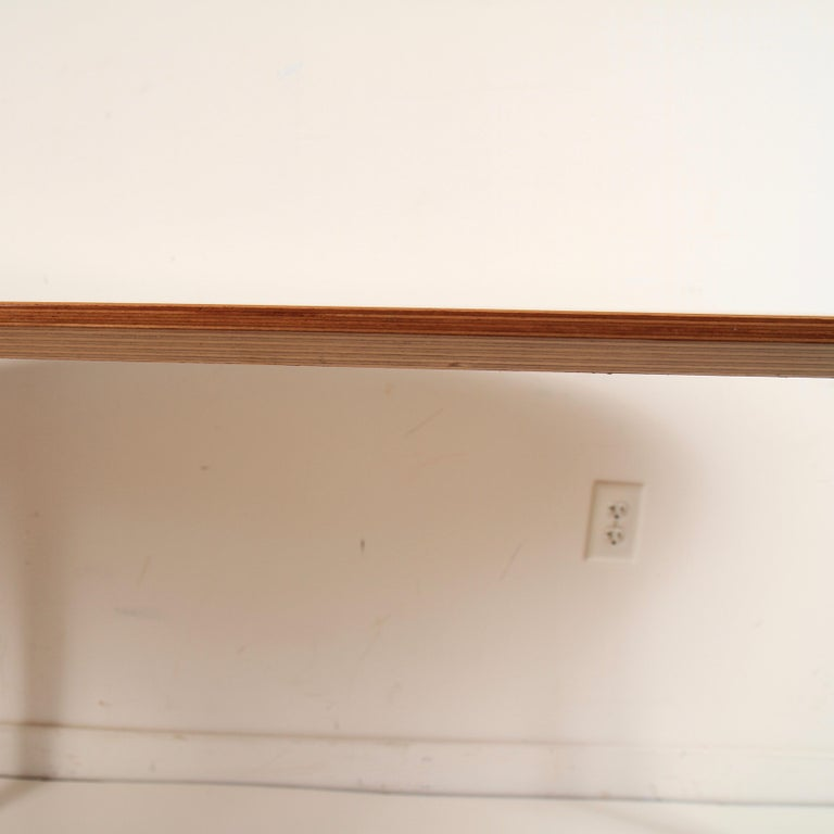 Norman Cherner Oval Dining Table In Good Condition For Sale In Darien, CT