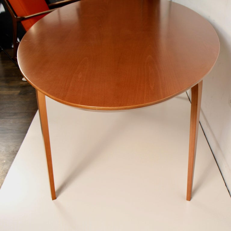 Norman Cherner Oval Dining Table For Sale 1