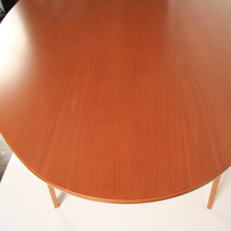 Norman Cherner Oval Dining Table For Sale 2