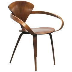 Norman Cherner Pretzel Dining Chair, Made by Plycraft, USA, 1960s