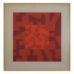 Norman Ives Silkscreen, 1974