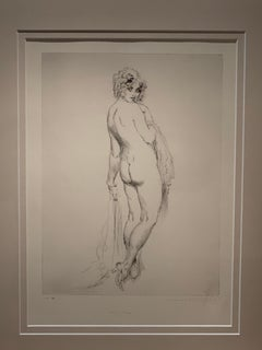 Norman Lindsay, No Yes, Etching on Paper framed