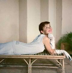 Audrey Hepburn, Italy, 1955 - Norman Parkinson (Colour Photography)