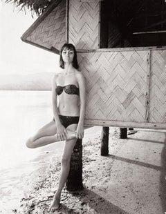 Katherine Pastrie in Tahiti