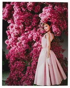 Norman Parkinson 'Audrey Hepburn with Flowers'