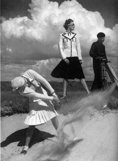 Norman Parkinson 'Golfing at Le Toque'