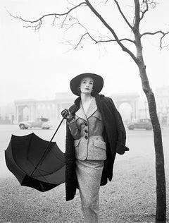 Wenda In A Hardy Amies Suit, Near Rotten Row, Hyde Park Corner, London, 1951
