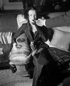 Wenda Parkinson in Wallace Smoking