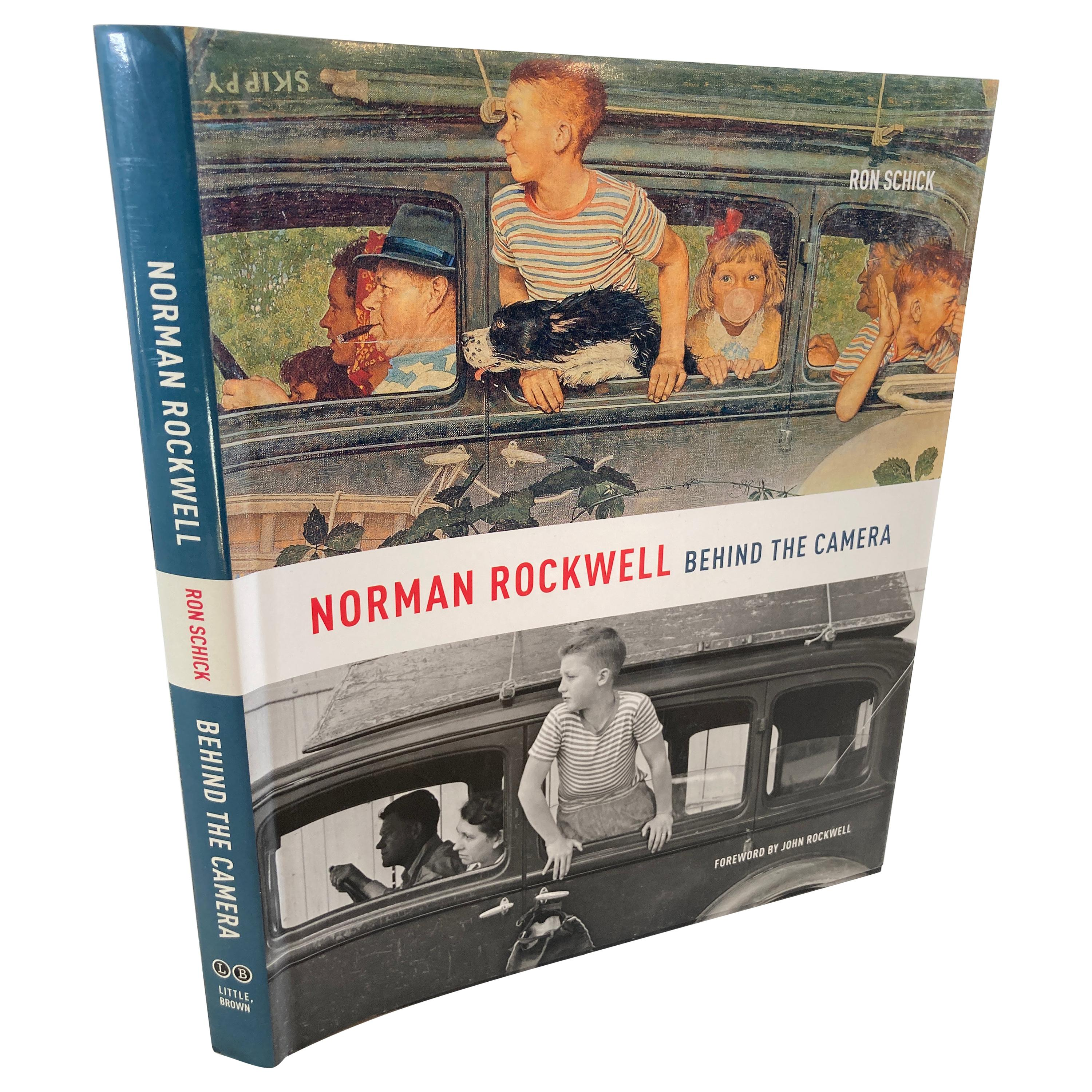 Norman Rockwell Behind the Camera Book by Norman Rockwell and Ron Schick