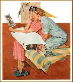 Dream Boats - Limited edition Lithograph by Norman Rockwell