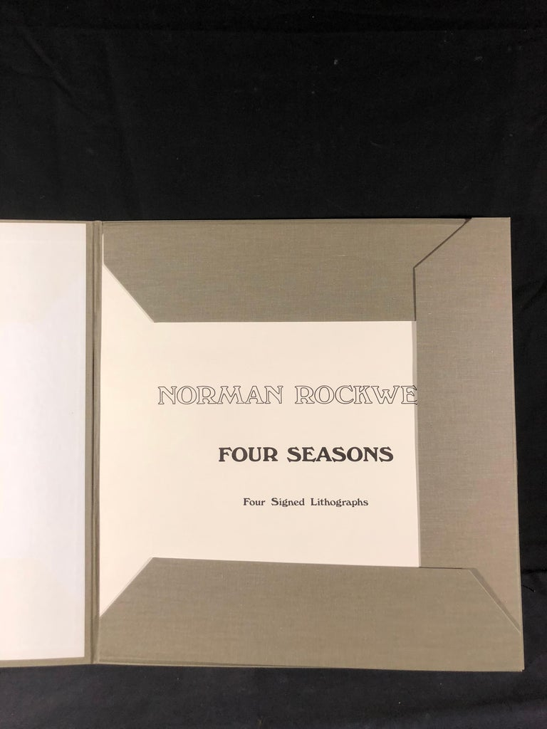 The Four Seasons Suite (Hand-Signed & Numbered) For Sale 6