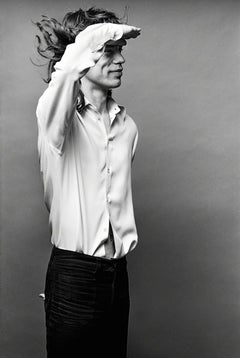 Mick Jagger, 'Mick Saluting', Los Angeles