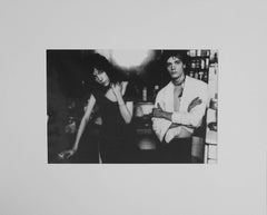 "Patti Smith & Robert Mapplethorpe, 16x20"", Vintage Silver Gelatin Print"
