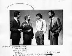 "Steve Jobs, 11x14"", Vintage Silver Gelatin Print"