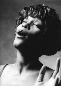 """Whitney Houston, 11x14"""", Vintage Silver Gelatin print"""