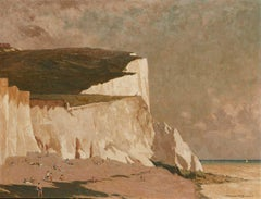 Dover Beach -  20th Century Oil, British