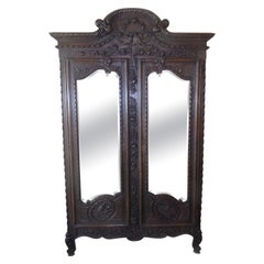 Normandy Marriage Armoire, C1890