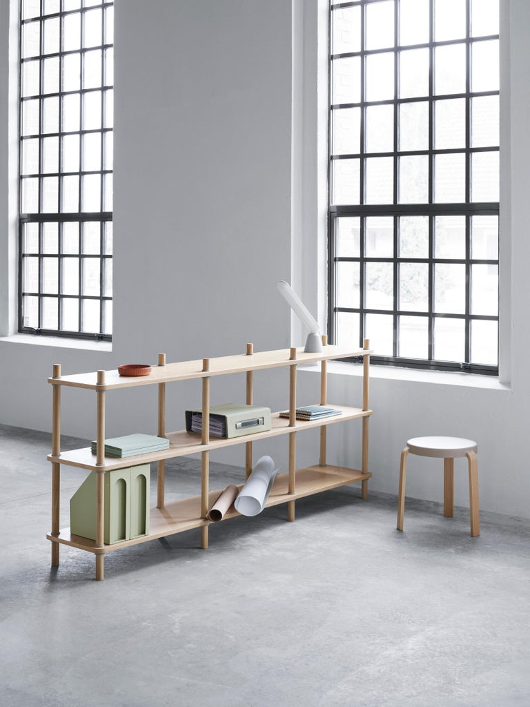 Portuguese Normann Copenhagen Jam 8 Pole Bookcase by Rudolph Schelling Webermann For Sale