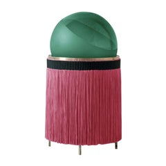 Normanna Medium Floor Lamp in Apple Green and Red by Vi and M