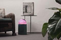 Normanna Small Lamp in Murano Glass and Tripolino fringes by VI+M Studio (Euro)