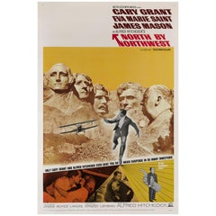"""North by Northwest"" Original US Film Poster"