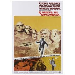 """""""North by Northwest"""" Original US Film Poster"""