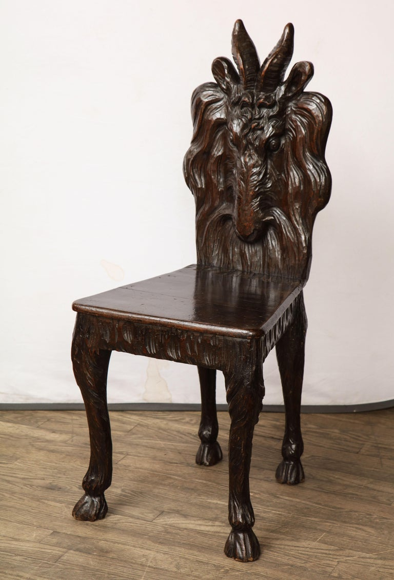 North of Scotland Goat Chair For Sale 1