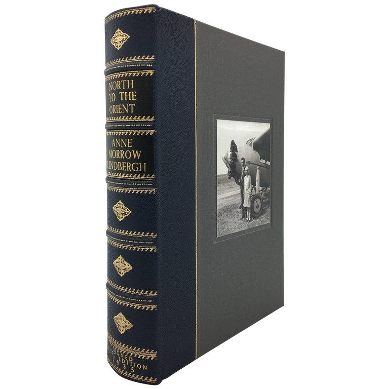 North to the Orient, 1st Edition, Signed by Charles & Anne-Morrow Lindbergh In Good Condition For Sale In Colorado Springs, CO