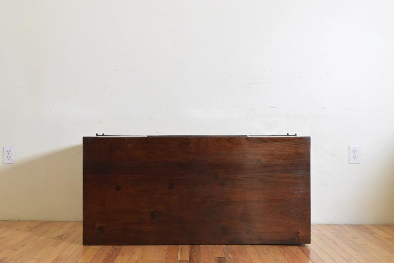 Northern Italian, Veneto, Walnut Neoclassic Period Writing Desk, early 19th cen For Sale 14