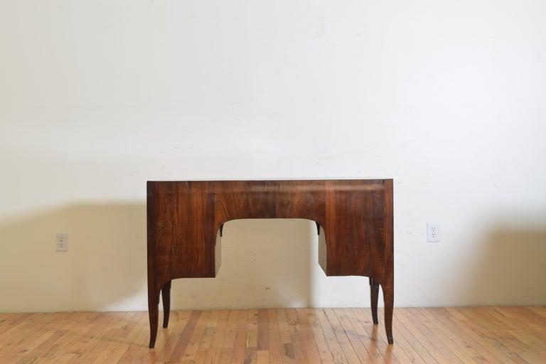 Northern Italian, Veneto, Walnut Neoclassic Period Writing Desk, early 19th cen For Sale 4