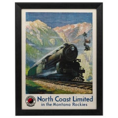 Northern Pacific Railroad Vintage Poster by Gustav W. Krollman, 1929