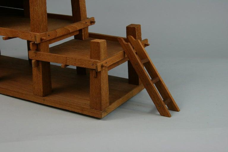 Northern Thailand Teak Wood House Model For Sale 9