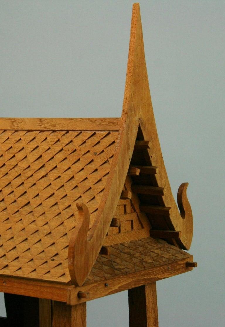 Northern Thailand Teak Wood House Model For Sale 10