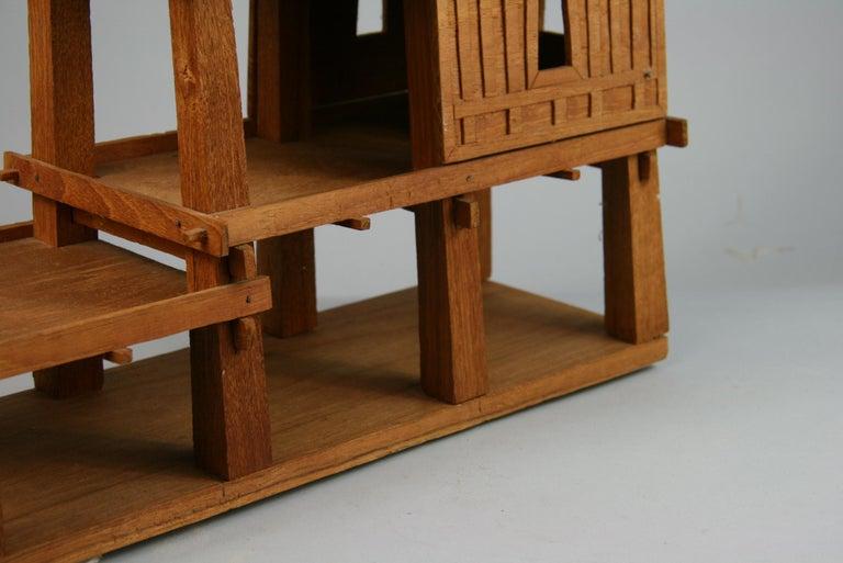 Northern Thailand Teak Wood House Model For Sale 2