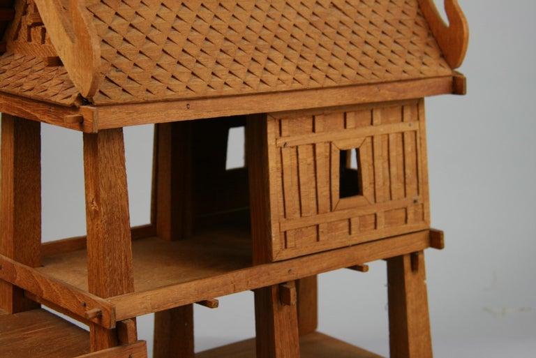 Northern Thailand Teak Wood House Model For Sale 3