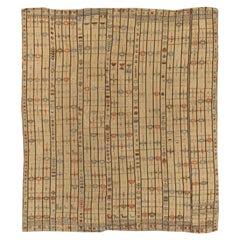 Northwest Persian Flat-Woven Jajim Cover, circa 1920, 5'7 x 6'5