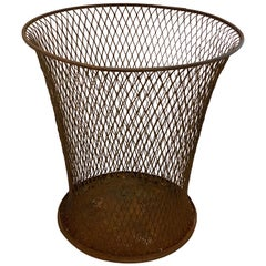 Northwestern Expanded Metal Company Wire Mesh Waste Basket