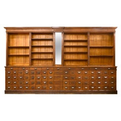 Northwestern Furniture Company 77-Drawer Apothecary Cabinet